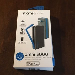 IHome power portable battery